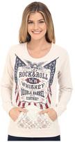 Rock and Roll Cowgirl Long Sleeve Sweatshirt 48-6214