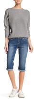 Seven7 Big Stitch Crop Jean