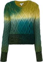 Kenzo ombré chunky knit jumper