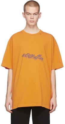 Off-White Orange 3D Pencil T-Shirt