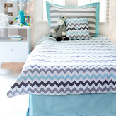 My Baby Sam Chevron Baby 4 Piece Comforter Set