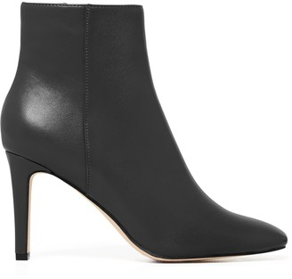 Forever New Grace Square-Toe Boots - Black - 36