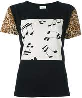 Saint Laurent music note print T-shirt