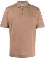 Eleventy plain short-sleeved polo shirt