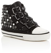 Ash Girls' Viper Embellished Buckle High Top Sneakers - Little Kid, Big Kid