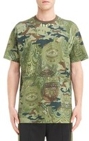 Givenchy Men's Camo Currency Print T-Shirt