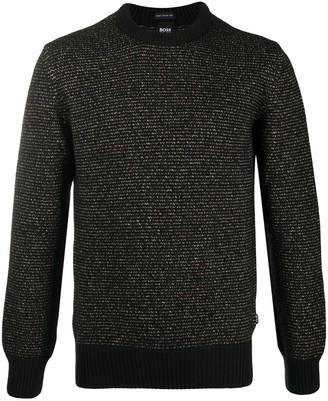 HUGO BOSS Crocheted Knit Jumper