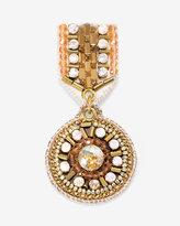 White House Black Market Rose Goldtone Medallion Pin