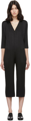 Pleats Please Issey Miyake Black Pleats Jumpsuit