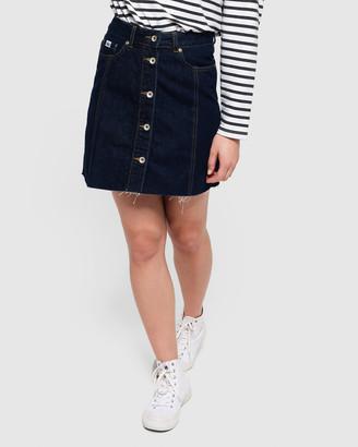 Superdry Denim A Line Skirt