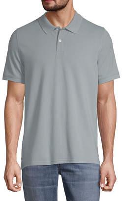 ST. JOHN'S BAY Premium Stretch Mens Short Sleeve Polo Shirt