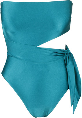 Zimmermann Brighton Scarf Tie Swimsuit