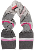 Autumn Cashmere Striped cashmere scarf