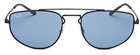 Ray-Ban Unisex Brow Bar Sunglasses, 55MM
