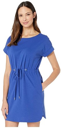 Tommy Bahama Veranda Short Sleeve Dress (Deep Ultramarine) Women's Dress