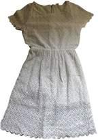 Bel Air White Cotton Dress for Women