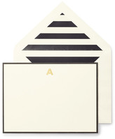 Kate Spade Monogram A Correspondence Cards - Set of 10