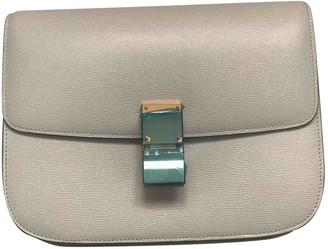 Celine Classic Grey Leather Handbags