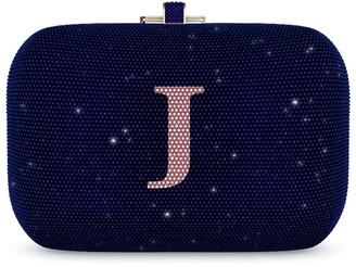 Judith Leiber Couture Slide Lock Customizable Monogram bag