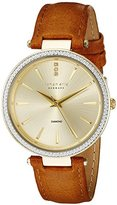 Johan Eric Women's JE-F1000-02-002 Fredericia Analog Display Quartz Brown Watch
