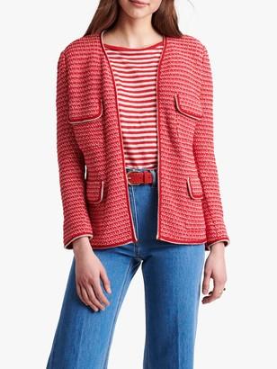 Gerard Darel Amadea Tweed Jacket, Red