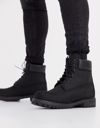 Timberland 6 premium boots in black