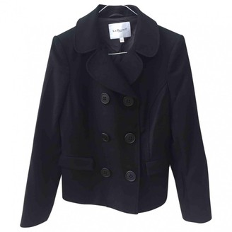 LK Bennett Black Wool Coat for Women