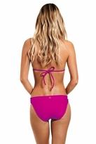 Vix Bia Logo Full Bikini Bottom in Magenta