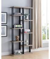 Wrought Studio Bryce Wooden Display Cabinet Etagere Bookcase Wrought Studio