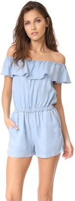 Splendid Women's Chambray Romper