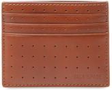 Jack Spade Men's 610 Perforated Leather Card Holder