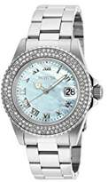 Invicta Women's 'Sea Base' Quartz Stainless Steel Casual Watch, Color:Silver-Toned (Model: 20362)
