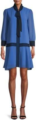 Alexia Admor Self-Tie Neck Shift Dress