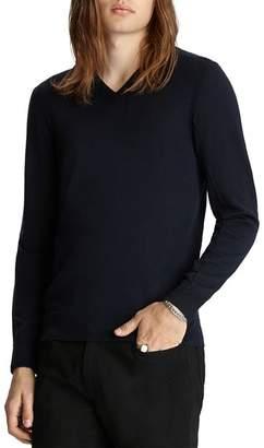 John Varvatos Collection Slim Fit V-Neck Sweater