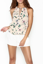 Everly Floral Halter Top