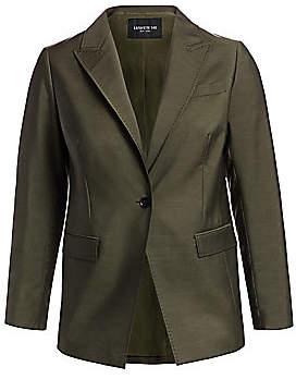 Lafayette 148 New York Lafayette 148 New York, Plus Size Women's Atticus One-Button Blazer