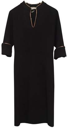 Saint Laurent \N Black Wool Dresses