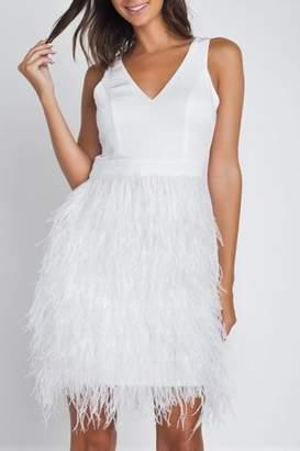 Minuet Ostrich Feather Dress
