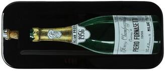 Fornasetti Champagne Bottle Print Tray