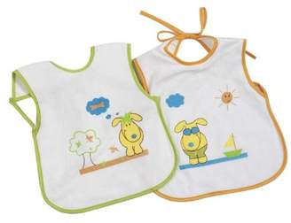 Camilla And Marc Bolin Bolon - 1372830012200 - Maxi Printed Bibs Small Set of 2, 27x33 cm