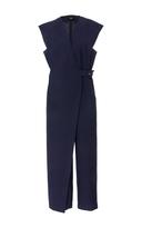 Rachel Comey Wrap-Effect Cotton-Blend Jumpsuit