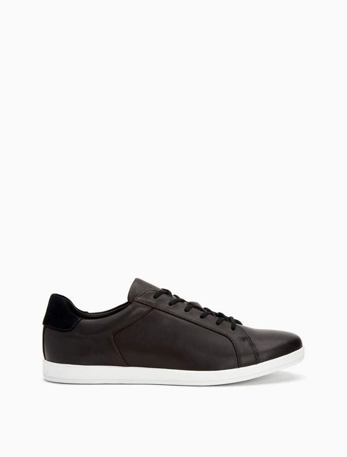 Calvin Klein maine lux leather sneaker