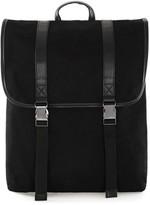 Topman Men's Canvas Backpack - Black