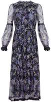 Needle & Thread Ditsy Lilac-Print Ballerina Dress
