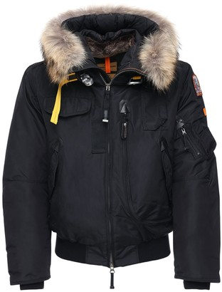 Parajumpers Gobi Down Bomber Jacket W/ Fur