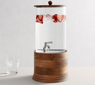 Pottery Barn Driftwood Drink Dispenser