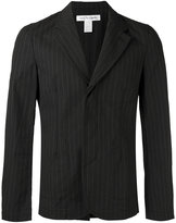 Comme des Garcons pinstriped blazer - men - Cotton - M