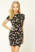 Forever 21 FOREVER 21+ Bodycon Floral Mini Dress