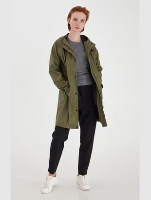 Ichi Tazi Jacket Khaki - XS