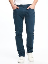 Old Navy Built-In Flex Brushed Twill Skinny Pants for Men